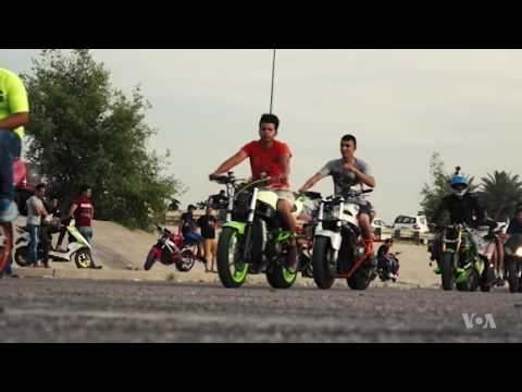 Baghdad Bikers Defy War with a Roar