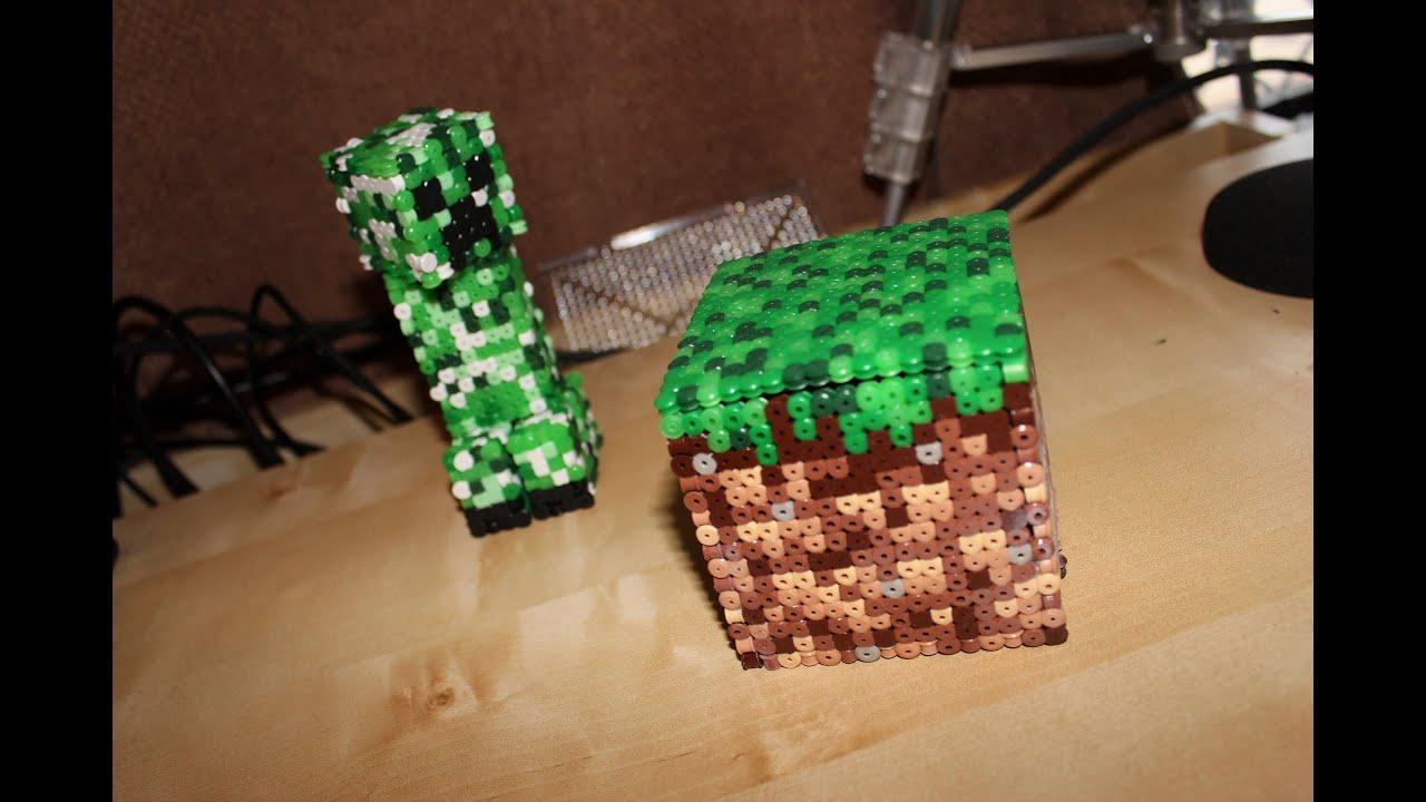 minecraft 3D creeper pixel art - YouTube