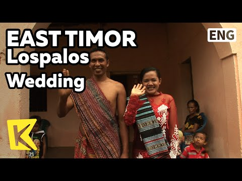 【K】EastTimor Travel-Lospalos[동티모르 여행-로스팔로스]소박한 농촌의 전통 결혼식/Wedding/Lospalos