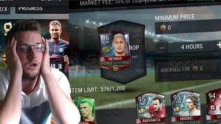 Stop me from quickselling top transfer neymar! stopde's fifa mobile challenges!