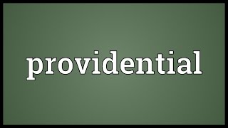Providential Meaning