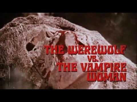 THE WEREWOLF VS THE VAMPIRE WOMAN  1971