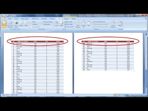 how to automatically add rows in word