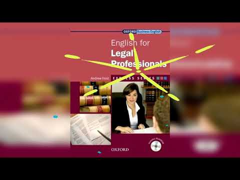 Oxford Business English - English For Legal Professionals Student's Book