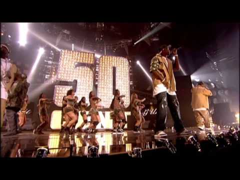 50 Cent Performs In Da Club    BRIT Awards 2004