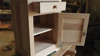 Fabrication d'une table de chevet - Partie 5