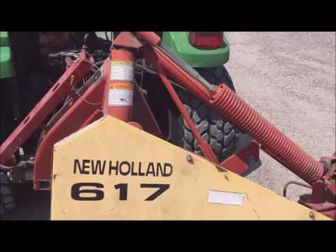 New Holland 617 disc mower for sale | no-reserve Internet auction July 12,  2017