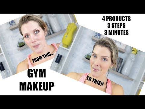 Easy, THREE step Makeup For the GYM! thumbnail
