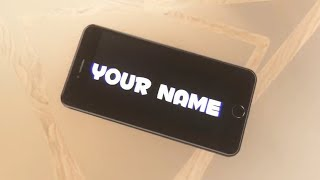 FREE iPhone Intro Template #258 Panzoid + Tutorial