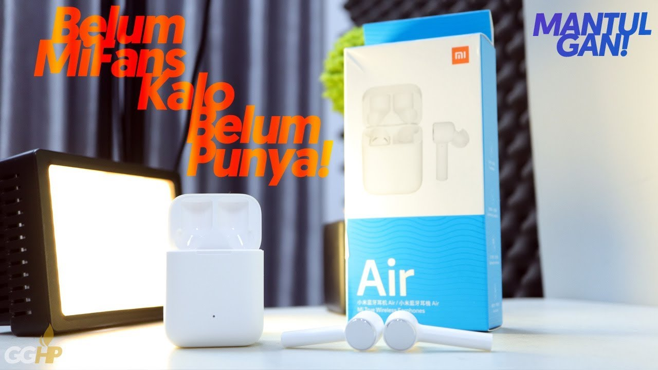0891a2afd8e Unboxing Xiaomi Mi AirDots PRO True Wireless Earphone + Cara Koneksi ke Hape