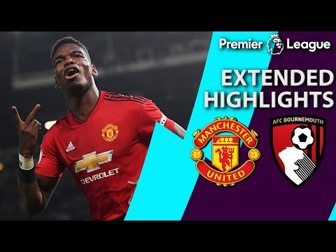 Manchester United v. Bournemouth | PREMIER LEAGUE EXTENDED HIGHLIGHTS | 12/30/18 | NBC Sports