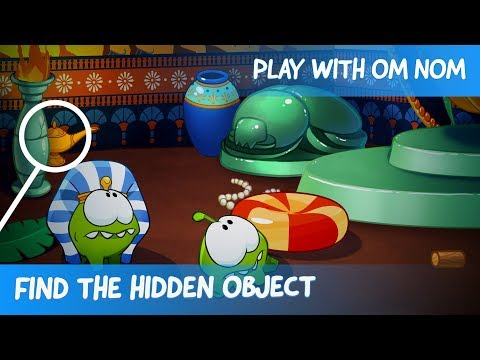 Find The Hidden Object - Om Nom Stories: Ancient Egypt (Cartoons For Children)