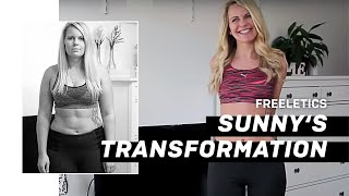 Beach Body Transformation   Only 20 weeks Freeletics Running!!!
