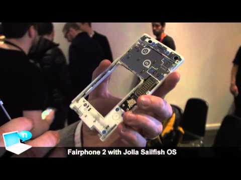 Fairphone 2 with Jolla Sailfish OS