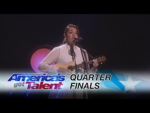 "Mandy Harvey: Deaf Singer Performs Original, ""Mara's Song"" - America's Got Talent 2017"