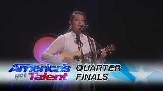 "Mandy Harvey: Deaf Singer Performs Original, ""Mara's Song"" - America's Got Talent 2017 Thumbnail"