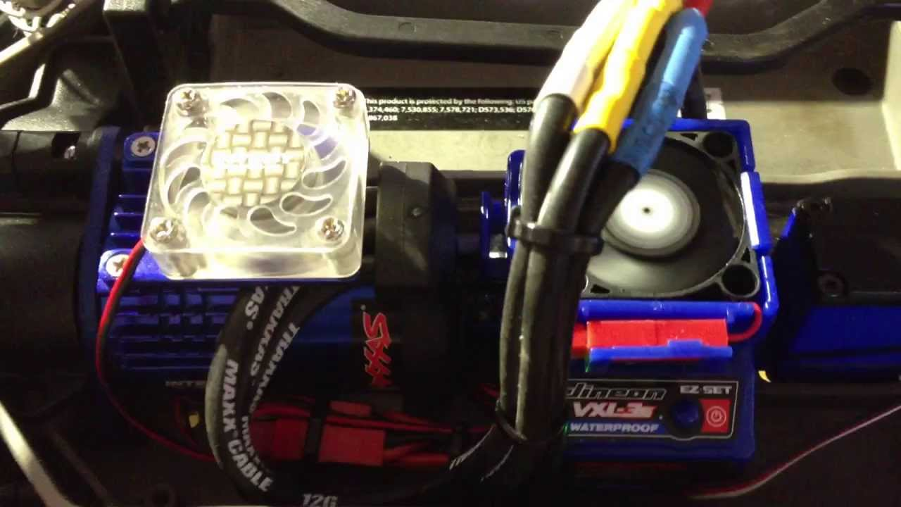 maxresdefault traxxas vxl dual fan wiring harness plug & play slash traxxas wiring harness at gsmx.co