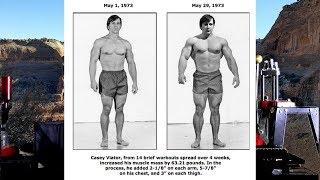 Arthur Jones, Casey Viator & The  Colorado Experiment!