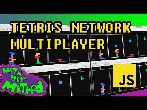 Tetris Network Multiplayer Over WebSockets In JavaScript