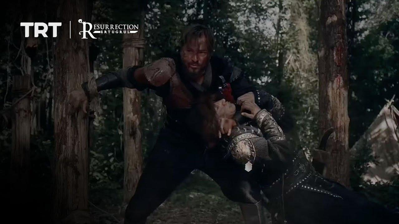 Ertugrul escapes the Mongols' camp