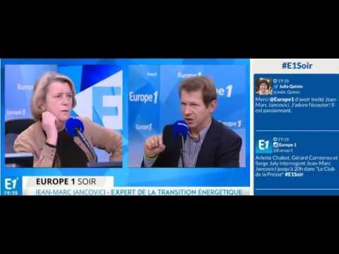 Jancovici au Club de la Presse d'Europe1 le 30/11/2015