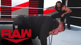 Drew McIntyre drops Randy Orton with a third Claymore: Raw, September 7, 2020