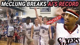 Mac McClung Breaks ALLEN IVERSON'S State Record For Points In A Season! FULL HIGHLIGHTS!