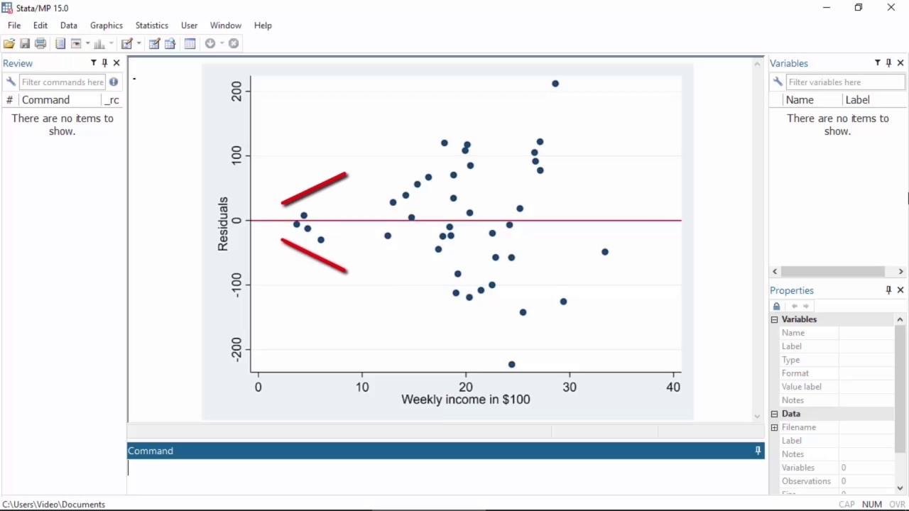 Preview: Heteroskedastic linear regression in Stata