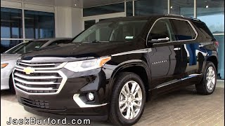 2019 Chevrolet Traverse High Country Walk Around with Nick!!