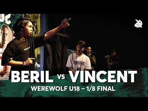 BERIL vs VINCENT | Werewolf Under 18 Beatbox Championship 2018 | 1/8 Final