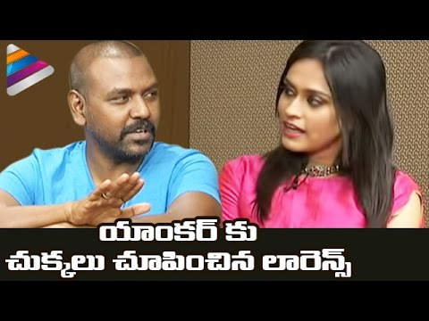 Raghava Lawrence Trolls Telugu Anchor | Shivalinga Movie Team Funny Interview | Ritika Singh | Vasu