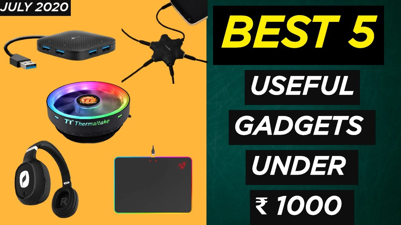 5 Best Useful Gadgets Under rs 1000 | Top 5 Cool Gadgets on Amazon under 1000 Rs.