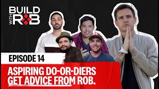 Entrepreneurs Workshop Their Pitches with Rob   Build With Rob EP14