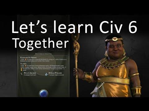 Let's learn CIV 6 together - Part 1 (Civilization VI)