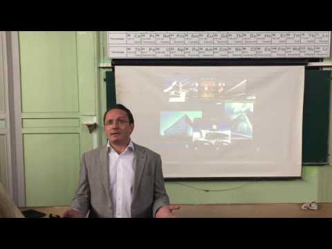 "Лекція ""Nanotechnology for Sustainability and Energy in modern Architecture"""