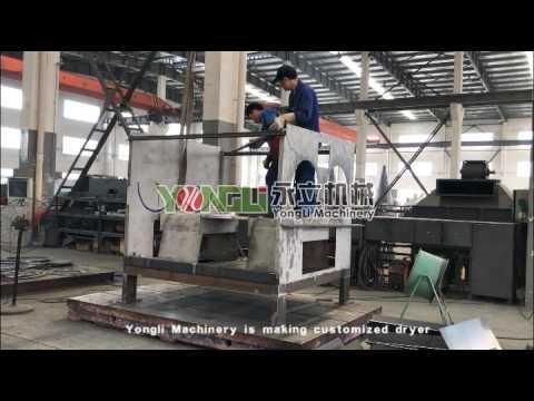 Yongli Machinery is making customized dryer