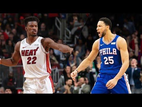 NBA Highlights Today Heat vs 76ers Full Game Highlights ...