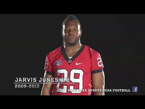 Georgia OLB Jarvis Jones wants your NCAA Football 14 Cover Vote!