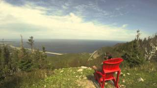 Just Chillin' Mountain Top BIG RED CHAIR! Thumbnail