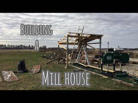 Building a Mill House for $40 + TIME | Woodland Mills HM