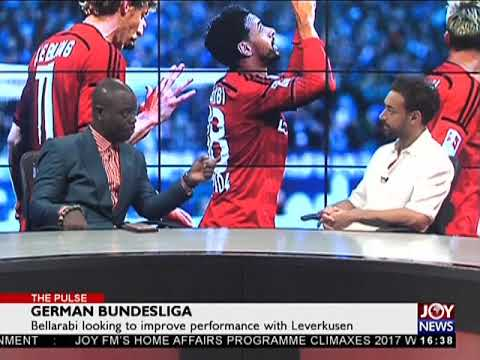 German Bundesliga - The Pulse Sports on JoyNews (29-12-17)