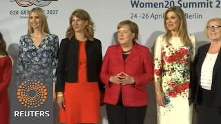 Ivanka Trump joins Merkel, Lagarde at Berlin women