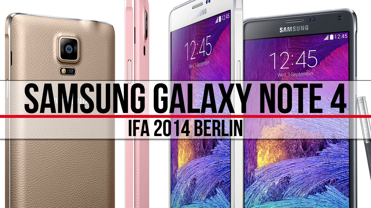 Samsung Galaxy Note 4 - szybki rzut oka (IFA 2014)   Komputer Świat