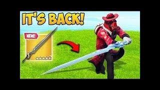 INFINITY SWORD  IS BACK!   Fortnite Funny Fails and WTF Moments!