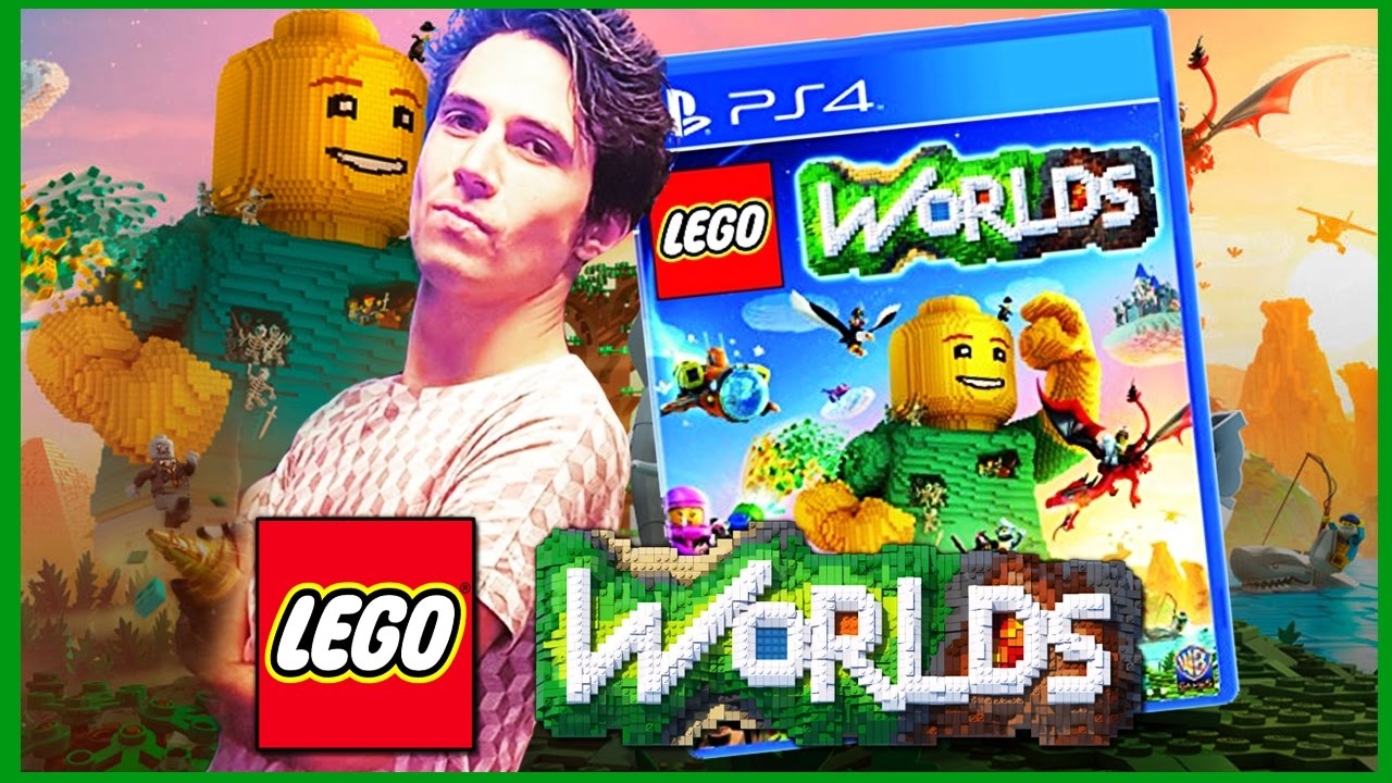 lego worlds ps4 preview gameplay n60sean youtube. Black Bedroom Furniture Sets. Home Design Ideas