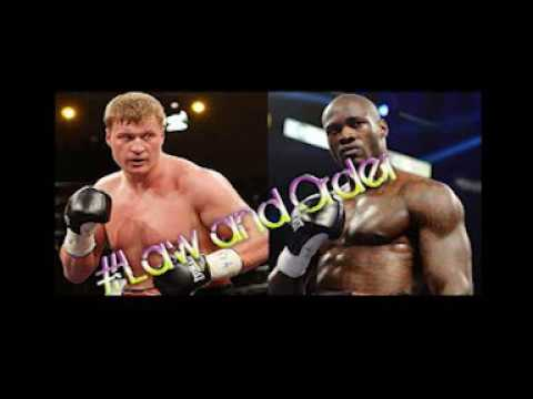 Deontay Wilder and Alexander Povetkin fight in court #Law and Order #Update