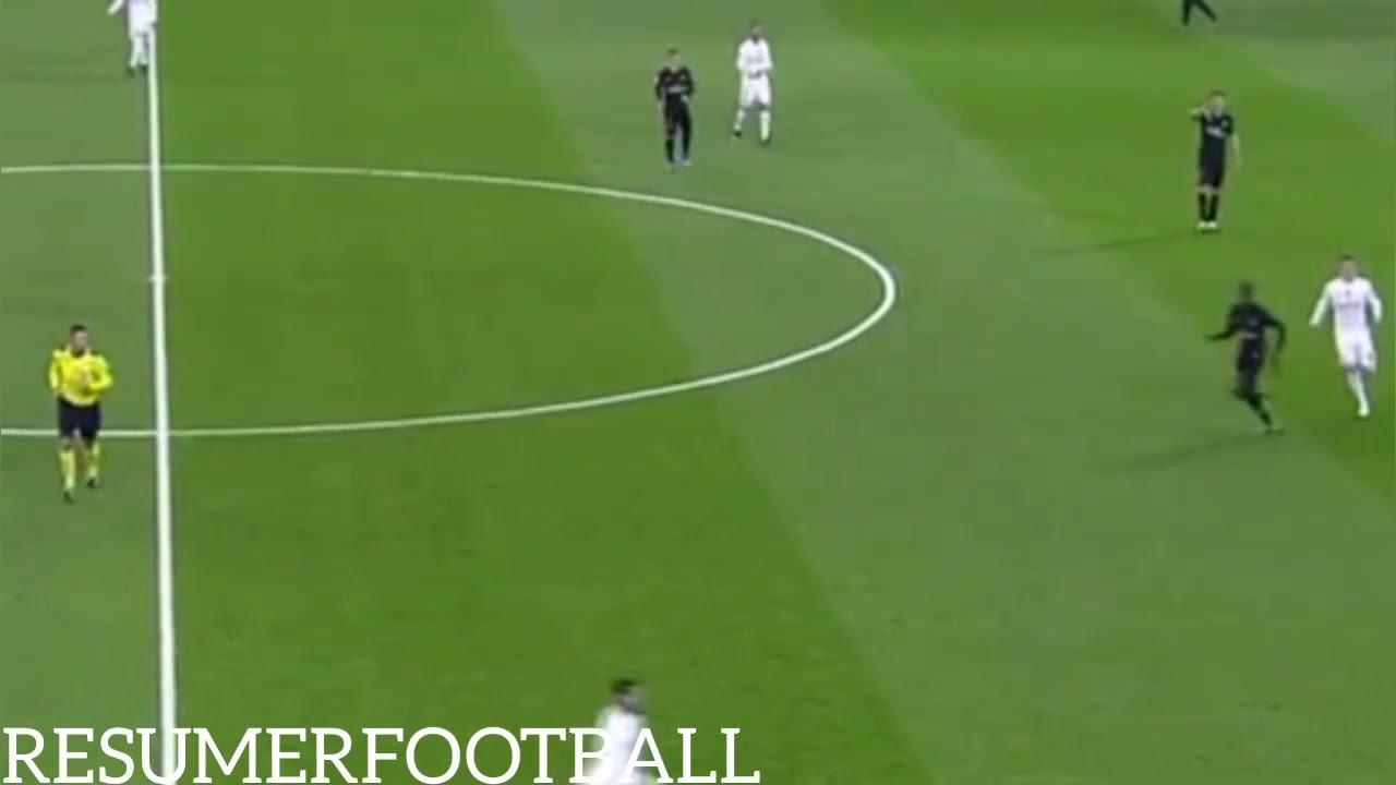 Real Madrid Vs Psg 1 0 Resumer Youtube