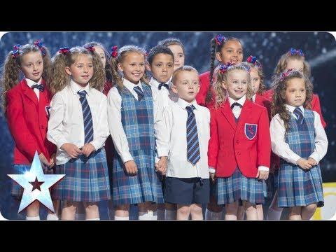 Preskool dance troupe Get Ready to Rhumble  Semi-Final 3  Britains Got Talent 2013
