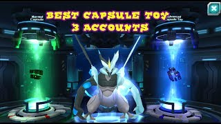 Best Capsule Toy With 7500 Diamonds For Best Pokemon - Pocket Arena