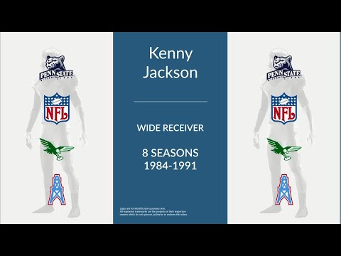Kenny Jackson: Football Wide Receiver